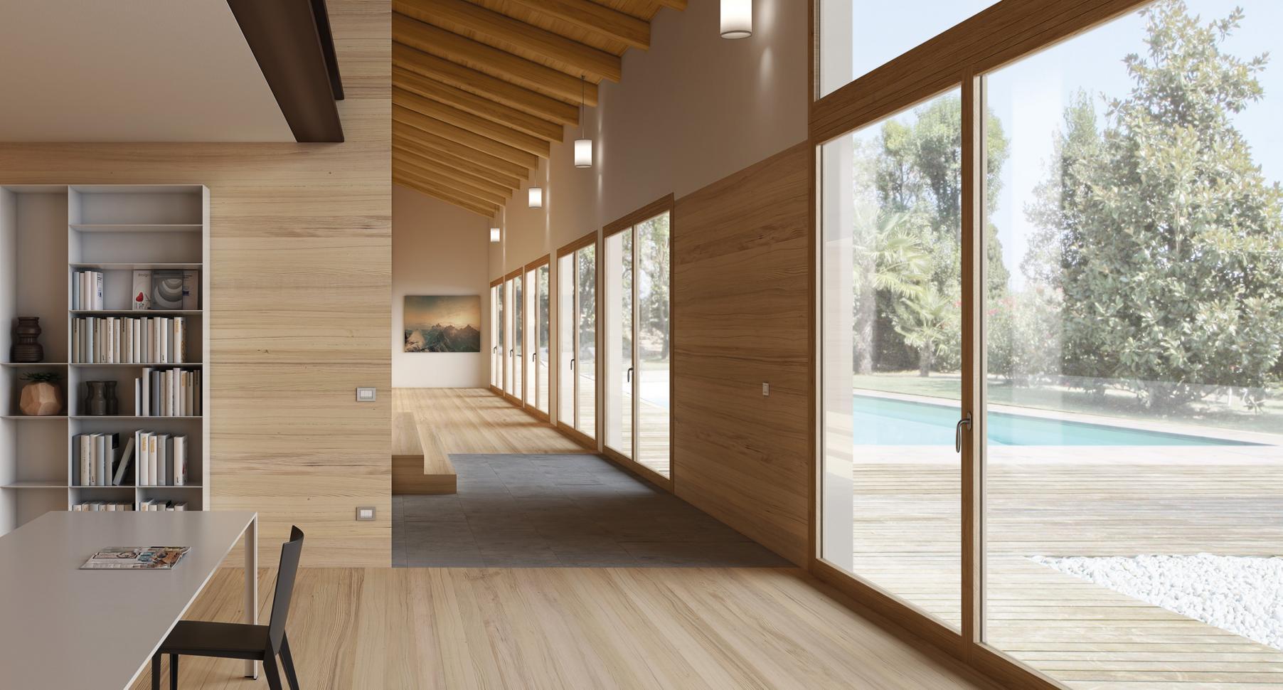 Finestre in legno personalizzate