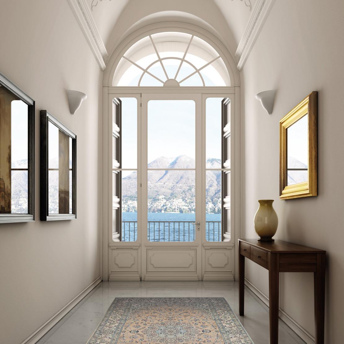 Il fascino delle finestre in legno