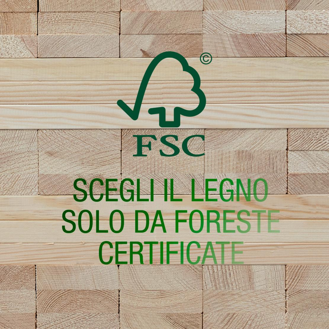 Timber windows from FSC certified forests
