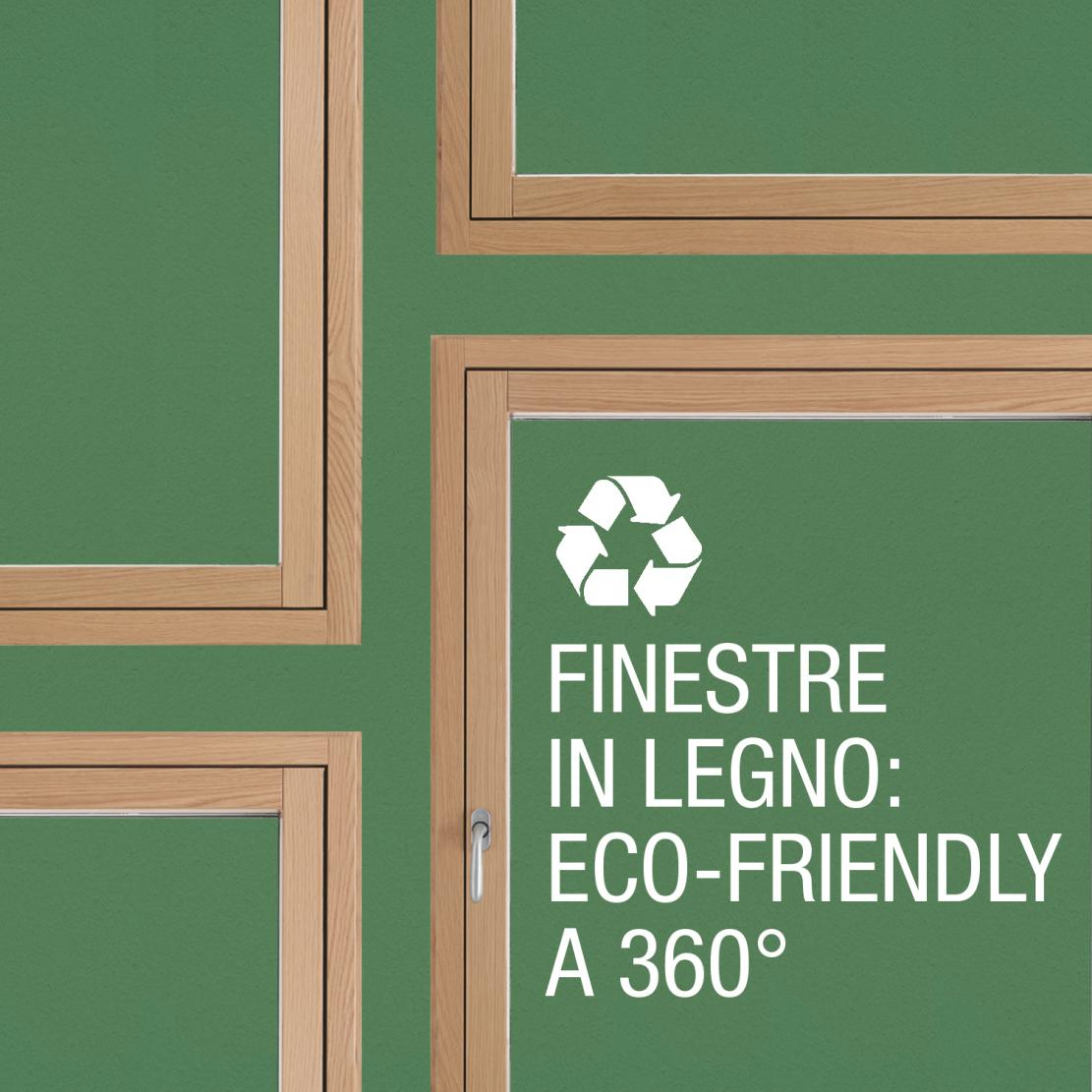 Timber windows, an eco-sustainable choice