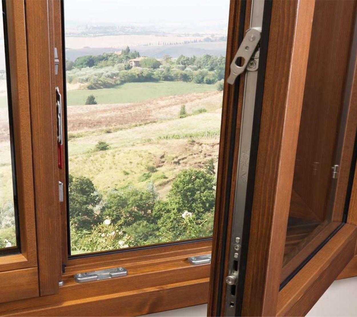 Le finestre in legno: belle e performanti
